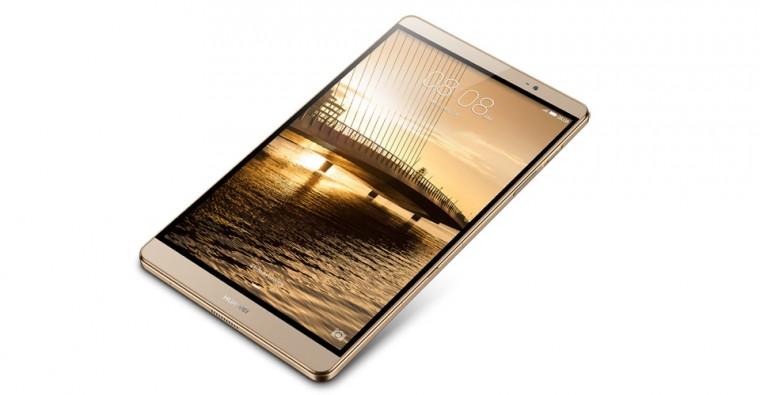Android Huawei MediaPad M2 TA-M280W32GOM, zlatá