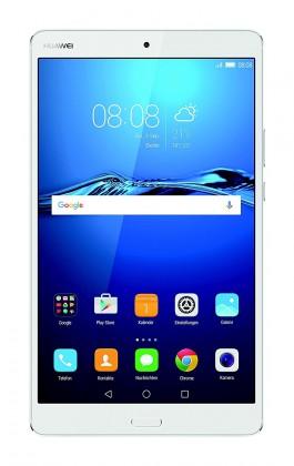 Android Huawei MediaPad M3, biela