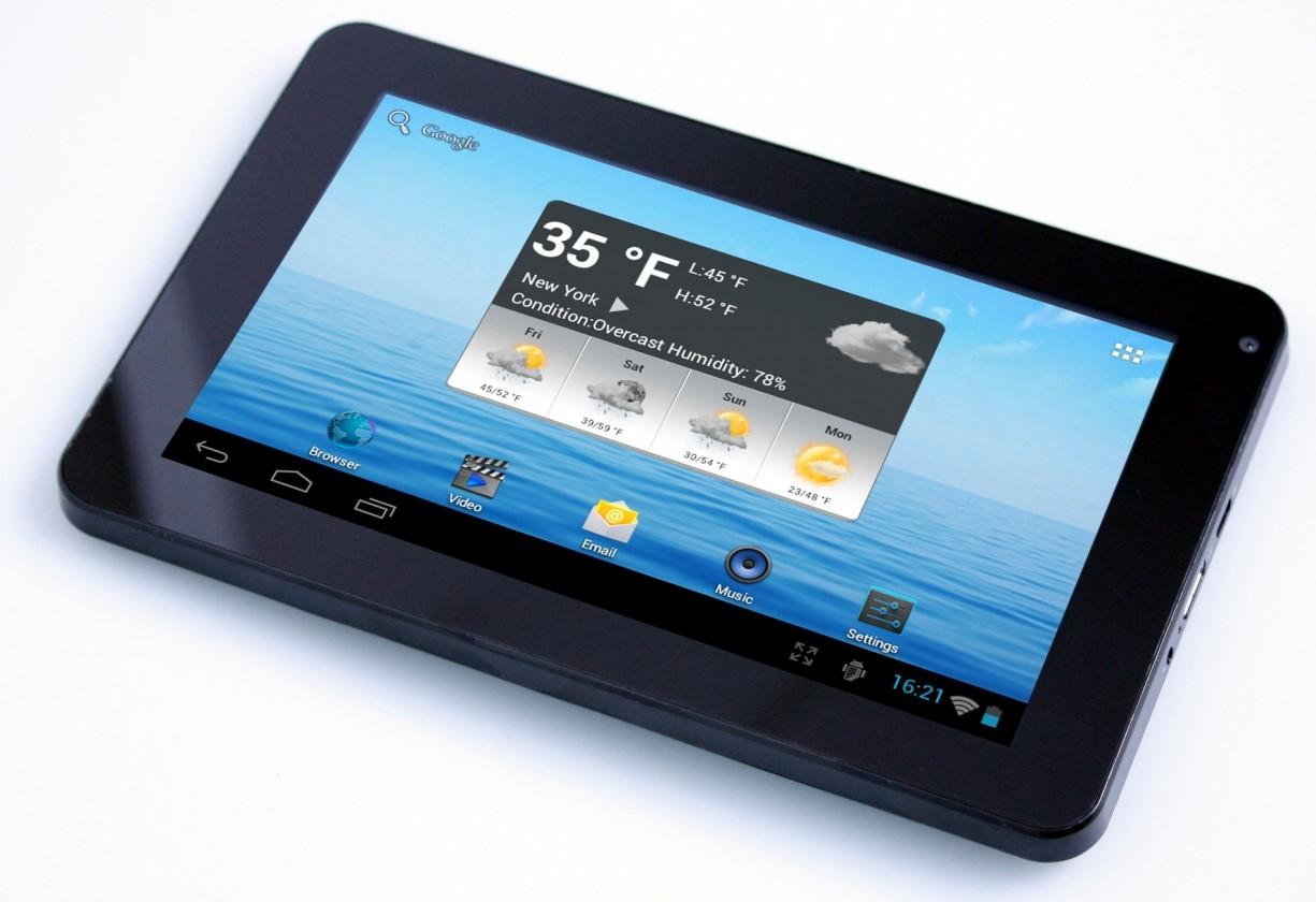 Android Navon Platinum 7 (TABF61031) černý ROZBALENO