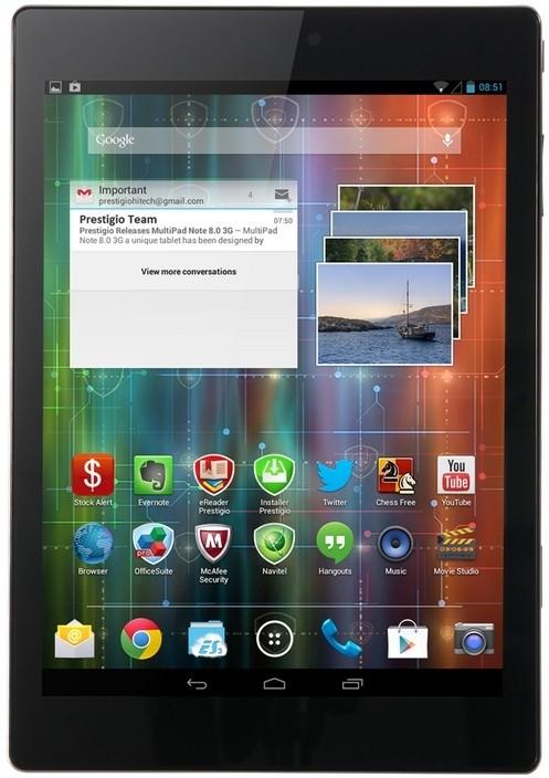Android Prestigio MultiPad 4 Diamond 7.85 3G (PMP7079D3G) čierny