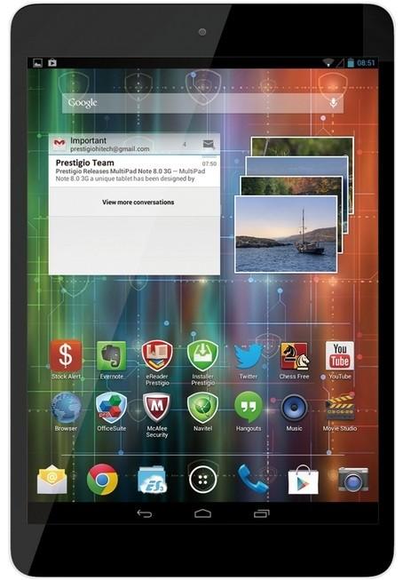 Android Prestigio MultiPad 4 Quantum 7.85 3G (PMP5785C3G) čierny
