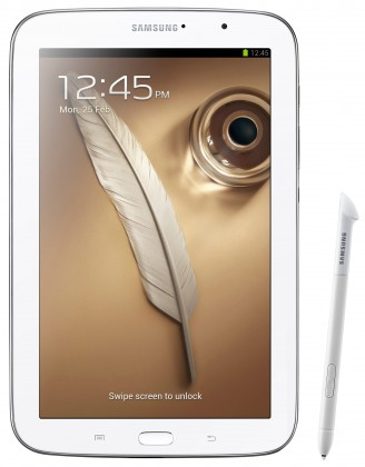 Android Samsung Galaxy Note 8 (N5110), biely