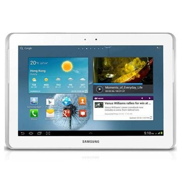 Android Samsung Galaxy Tab 2 10.1 (P5110), biely