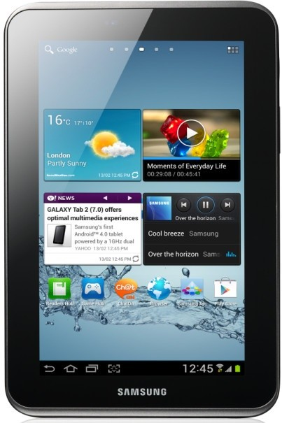 Android Samsung Galaxy Tab 2 7.0 (P3110), stříbrný ROZBALENO