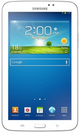 Android Samsung Galaxy Tab 3 7.0 (SM-T2100), biely