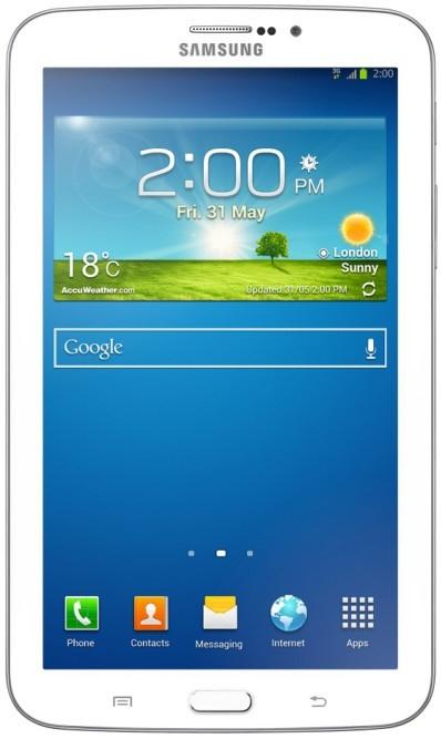 Android Samsung Galaxy Tab 3 7.0 (SM-T2110), biely