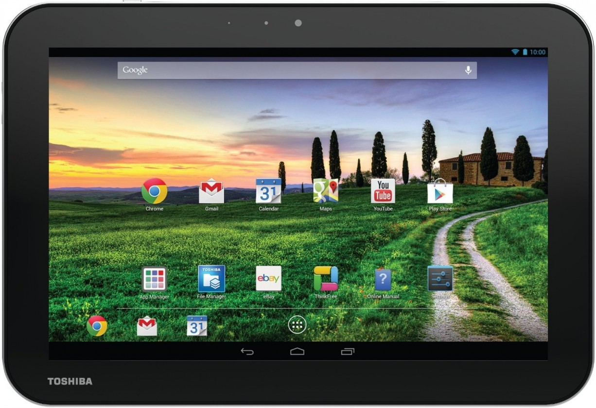 Android Toshiba Excite Pure AT10-A-104 strieborný