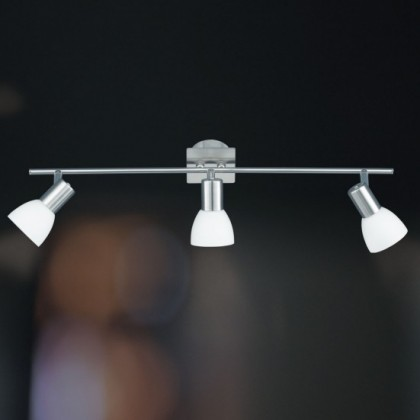 Angola - Stropné osvetlenie, E14 (matný nikel)