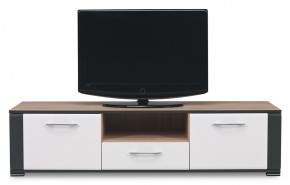 Anita - NA 1, TV stolík (dub sonoma/biela lesk, grafit)