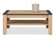 Anita - NA11, Konferenčný stolík (dub sonoma/biela lesk, grafit)