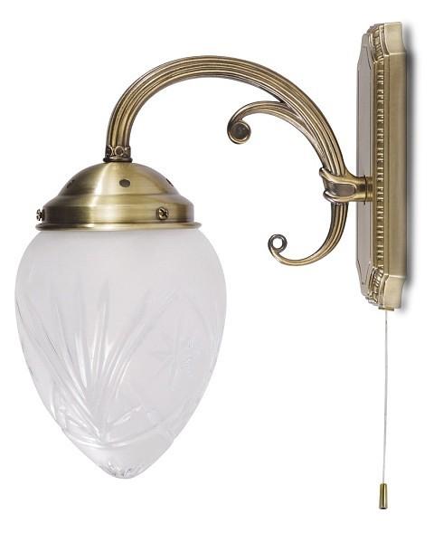 Annabella - Nástenné osvetlenie, 8631 (bronzová)