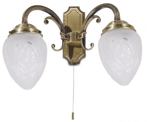 Annabella - Nástenné osvetlenie, 8632 (bronzová)
