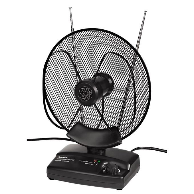 Anténa Hama Aktívna Interná anténa VHF / UHF / FM, 36 dB ROZBALENÉ