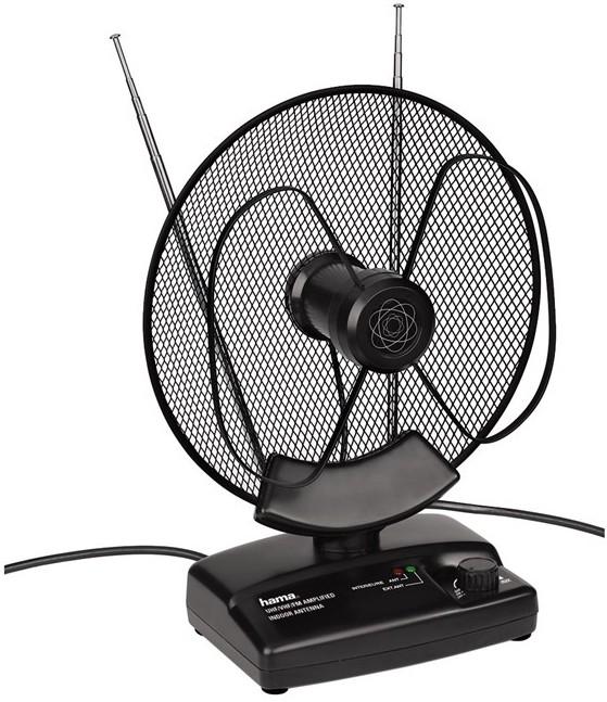 Anténa Hama aktívna interná anténa VHF/UHF/FM, 36dB