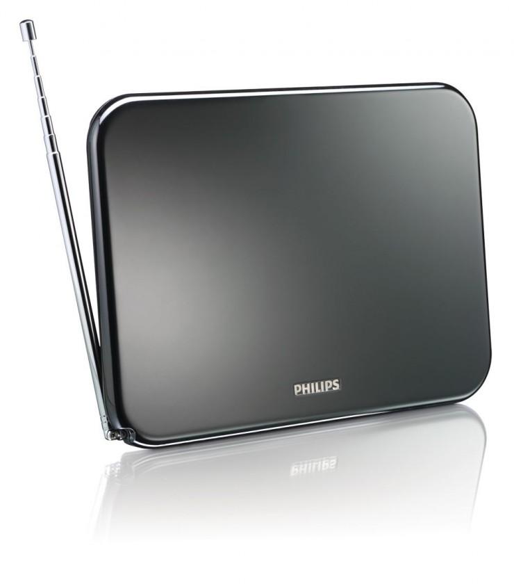 Anténa Philips SDV6224/12 TV anténa 40 dBi aktívna interiérová