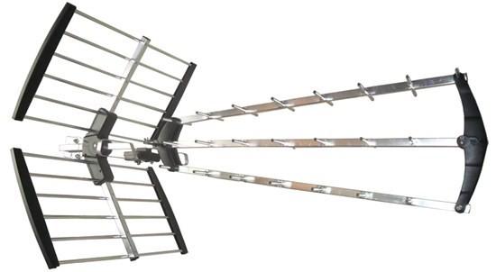 Anténa Solight vonkajšie DVB-T anténa, 17dB, LTE/4G filter
