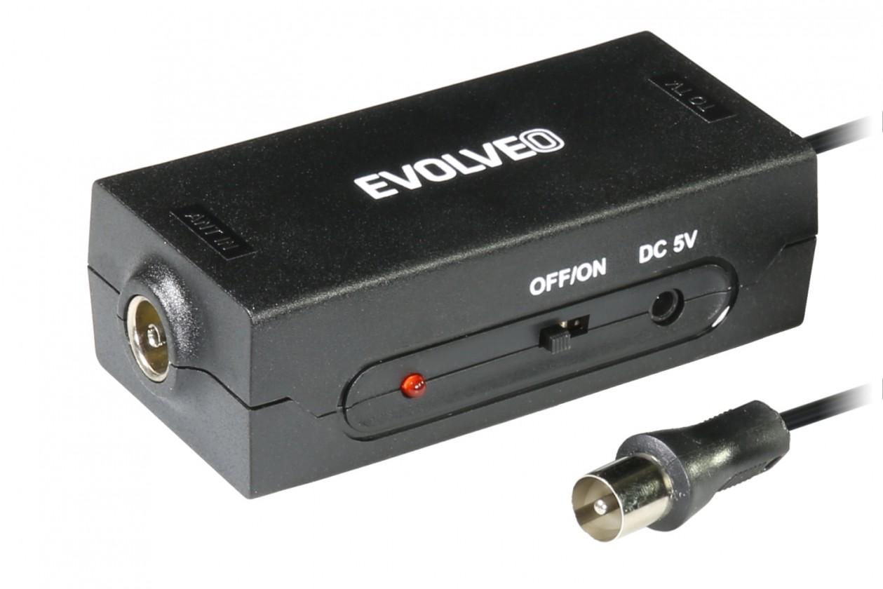 Antény Evolveo Amp 1 LTE anténní TV zesilovač 20dBi