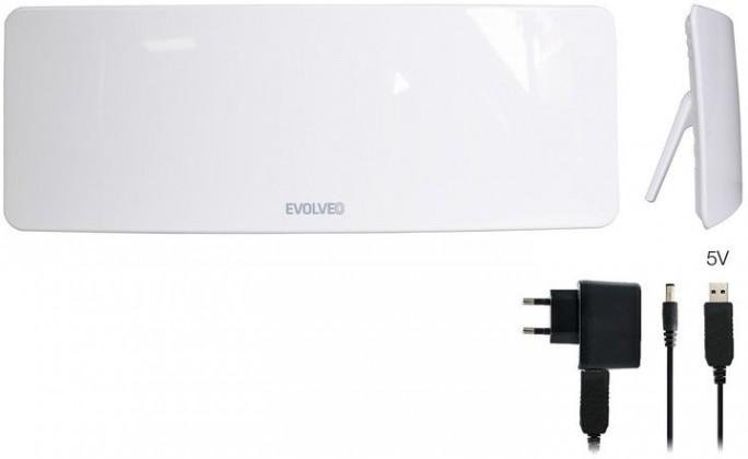 Antény Evolveo Xany 1 LTE TV anténa 50dBi aktívna izbová