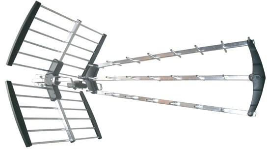Antény Solight venkovní DVB-T anténa, 39dB, UHF, 21. - 69. kanál (HN59)