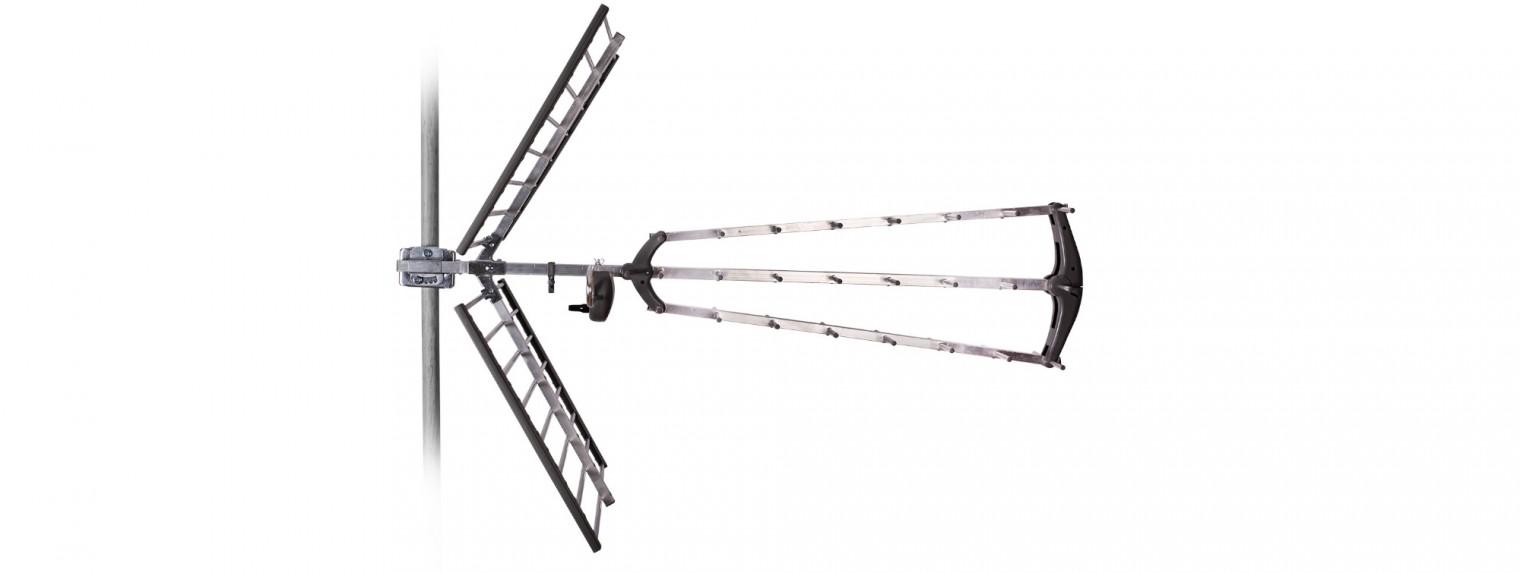 Antény Tesla TE-346 TV anténa 17dBi pasívna vonkajšie