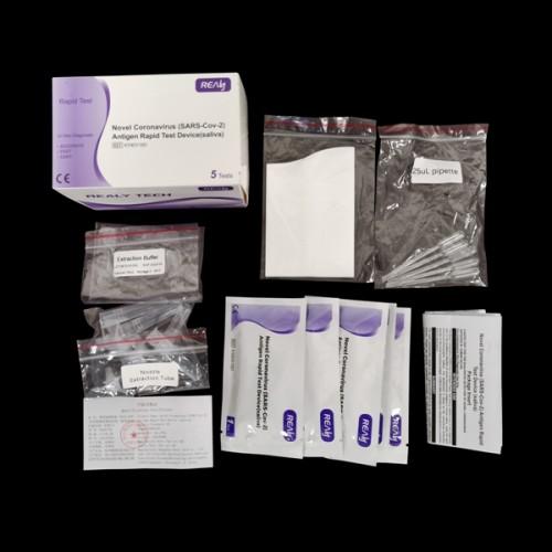 Antigénový test SARS-CoV-2 zo slín, 5 ks v balení