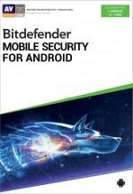 Antivírus Bitdefender pre mobily a tablety s Android, ročná lic.