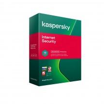 Antivírus Kaspersky Internet Security 3 x 1 rok