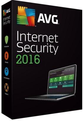 Antivírusové programy AVG Internet Security 2016, 1 licence 24 měs. (ISCEN24DCZS001)