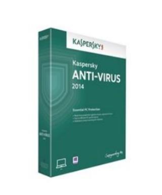 Antivírusové programy Kaspersky Anti-Virus 2015 CZ 1 PC 1 rok - Box