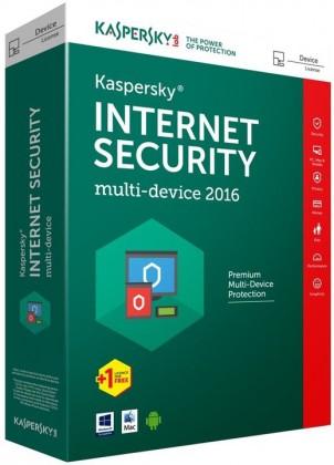 Antivírusové programy Kaspersky Internet Security 2016 CZ (KL1941OBBFS-6MCZ)
