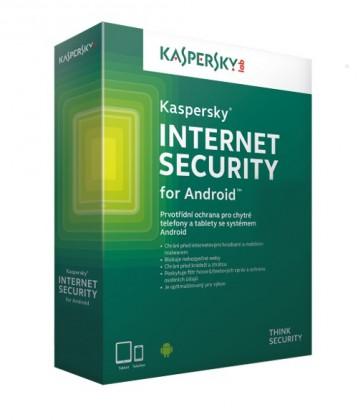 Antivírusové programy Kaspersky Internet Security ANDROID 1 rok CZ (KL1091OBAFS-CZ)