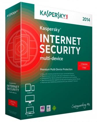 Antivírusové programy Kaspersky Internet Security Multi-Device 2014 CZ, 1 PC 1 rok-Box