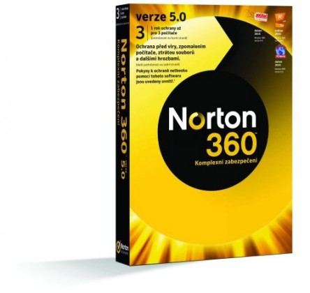 Antivírusové programy  NORTON 360 7.0 CZ