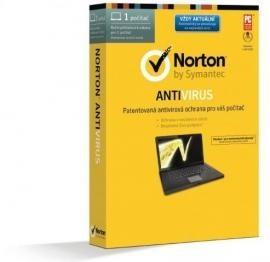 Antivírusové programy  NORTON ANTIVIRUS 2014 CZ 1 PC 12 MĚSÍCŮ WIN BOX