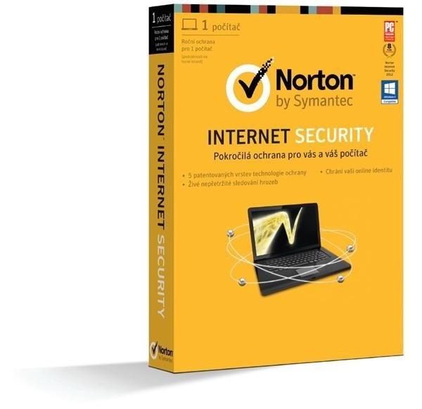 Antivírusové programy  NORTON INTERNET SECURITY 2013 CZ