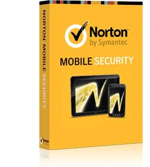 Antivírusové programy  NORTON MOBILE SECURITY 3.0 CZ 3 ZAŘÍZENÍ 12 MĚSÍCŮ BOX