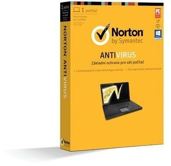 Antivírusové programy  PROMO NORTON ANTIVIRUS 2013 CZ