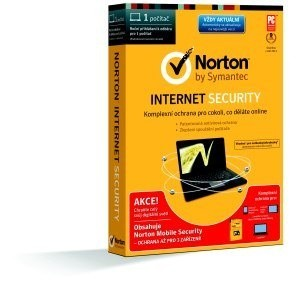 Antivírusové programy SPECIAL BUNDLE NORTON INTERNET SECURITY 2014 CZ 1 PC + MOBILE SEC