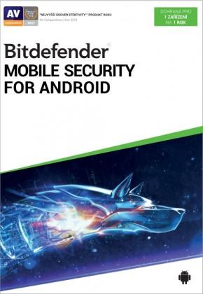 Antivírusový program Antivir BitDefender pre Android, ročná licencia