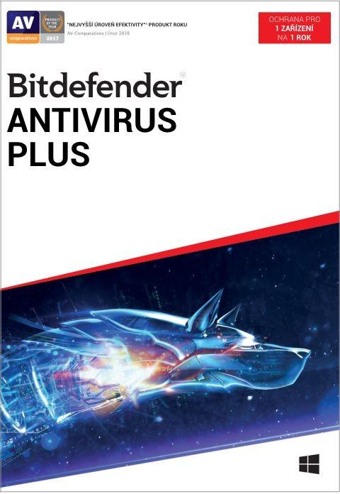 Antivírusový program Bitdefender Antivirus Plus (XL11011001_BOX)
