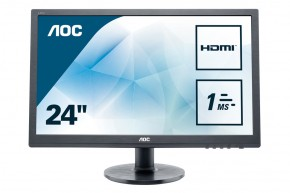 "AOC e2460Sh - LED monitor 24""  e2460Sh"