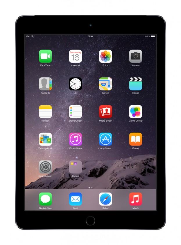 Apple iPad Air 2, 16 GB, Wi-Fi + LTE, sivý