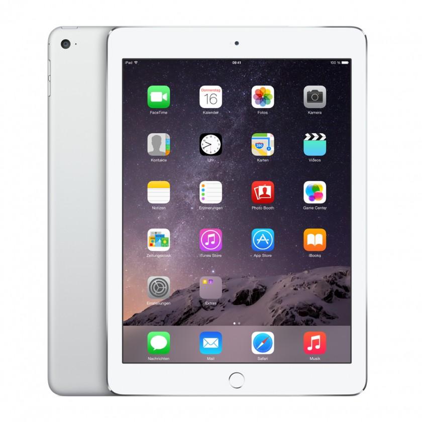 Apple iPad Air 2, 64 GB, Wi-Fi, strieborný