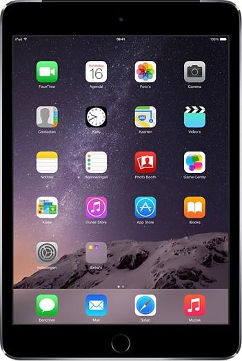 Apple iPad mini 3, 16 GB, Wi-Fi, sivý