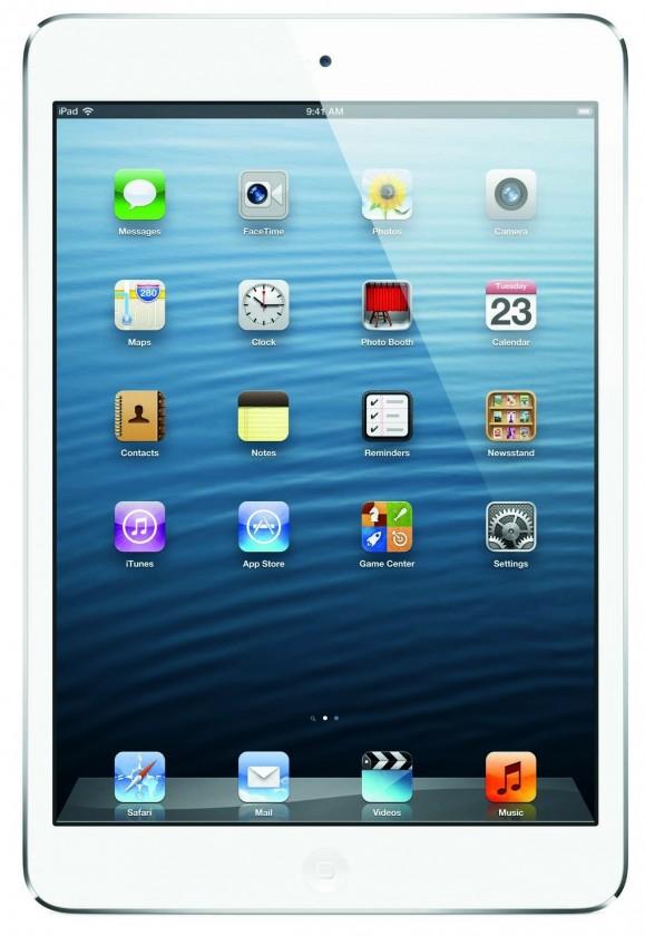 Apple iPad Mini (MD544SL/A) biely-strieborný