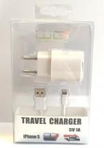 Apple iPhone 5 dátový kábel + USB nabíjačka