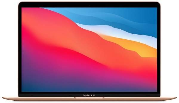 Apple MacBook Air 13'' M1 8GB, SSD 256GB, GLD, MGND3CZ/A + ZADARMO Antivírus Bitdefender Internet Security v hodnote 29.99,-EUR