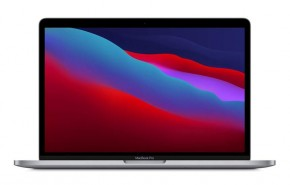 Apple MacBook Pro 13'' M1 8GB, SSD 512GB, SPG, MYD92CZ/A + ZADARMO Antivírus Bitdefender Internet Security v hodnote 29.99,-EUR