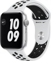 Apple Watch Nike S6 GPS, 44mm, strieborná