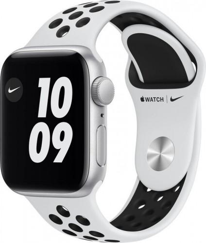 Apple Watch Nike SE GPS, 40mm, strieborná